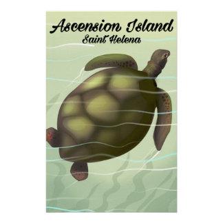 Papelaria Tartaruga de mar da Ilha Ascensão