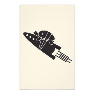 Papelaria tartaruga que monta um 🐢🚀 do foguete