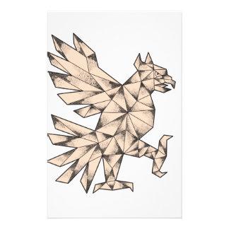 Papelaria Tatuagem de Cuauhtli Glifo Eagle