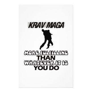 Papelaria Tendendo o DESIGN de Krav Maga