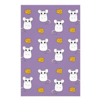 Papelaria Teste padrão bonito do rato