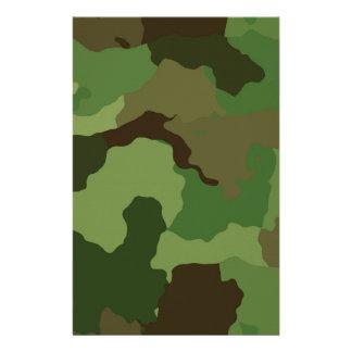 Papelaria Teste padrão da camuflagem