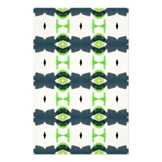Papelaria Teste padrão do design de Tiki