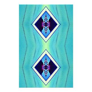 Papelaria Teste padrão geométrico artístico Pastel vibrante