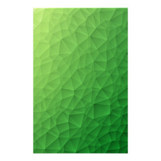 Papelaria Teste padrão poligonal do triângulo