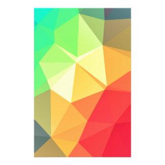 Papelaria Teste padrão triangular