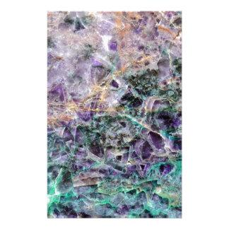 Papelaria textura de pedra amethyst