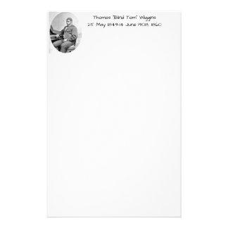 """Papelaria Thomas """"Tom cego"""" Wiggins, 1860"""