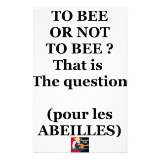 Papelaria TO BEE OR NOT TO BEE? That is the question
