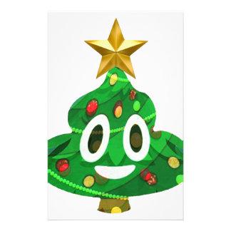 Papelaria Tombadilho Emoji da árvore de Natal