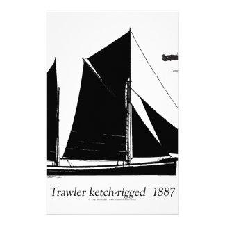 Papelaria traineira 1887 ketch-equipada - fernandes tony