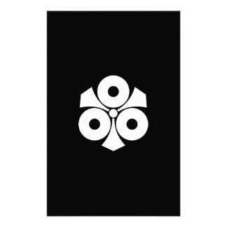 Papelaria Três olhos de cobra com espadas