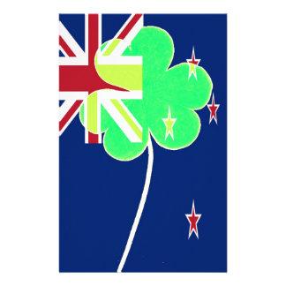 Papelaria Trevo St Patrick do trevo da bandeira de Nova