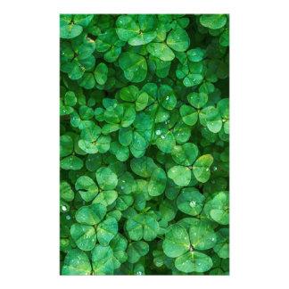 Papelaria Trevos afortunados de St Patrick