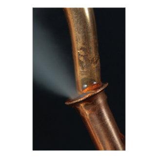 Papelaria Tubulação de cobre com vapor