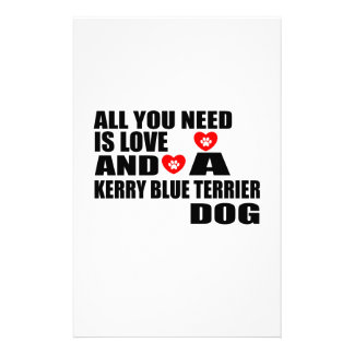 Papelaria Tudo você precisa o design dos cães de TERRIER de