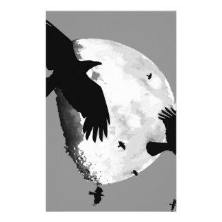 Papelaria Um assassinato dos corvos e da lua