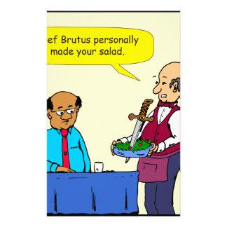 Papelaria Um Brutus de 904 cozinheiros chefe fez os desenhos