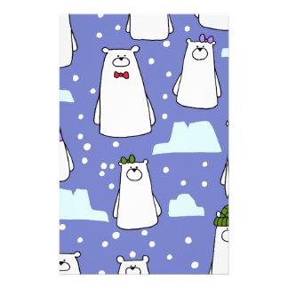 Papelaria ursos polares