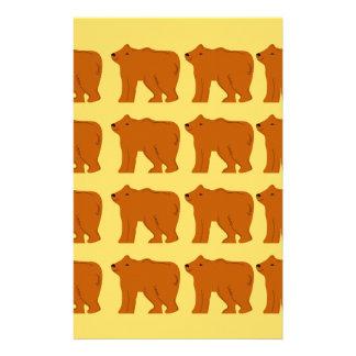 Papelaria Ursos polares no ouro