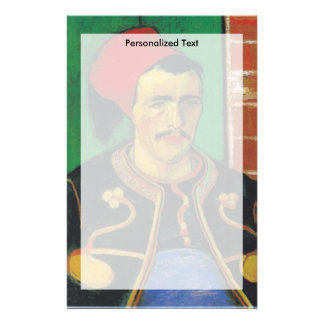 Papelaria Van Gogh |The Zouave| 1888