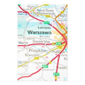 Papelaria Varsóvia, Varsóvia no Polônia