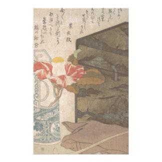 Papelaria Vaso de flor e caixa da laca - chinês