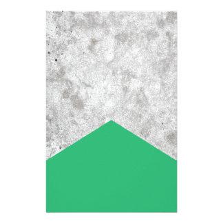 Papelaria Verde concreto #175 da seta