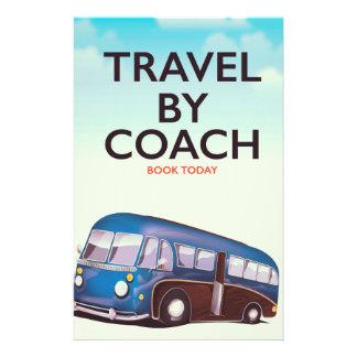 Papelaria Viagem pelo poster de viagens de Ingleses do