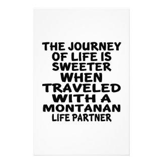 Papelaria Viajado com um sócio da vida do Montanan