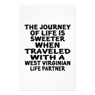 Papelaria Viajado com um sócio da vida do Virginian