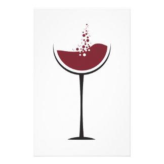 Papelaria Vidro de vinho