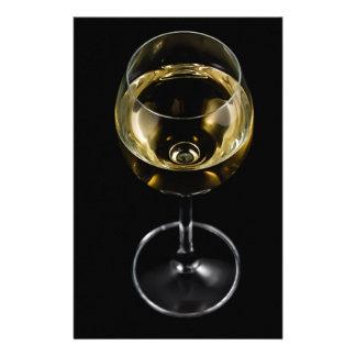 Papelaria vidro do champanhe