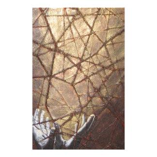Papelaria Vidro quebrado e luz solar