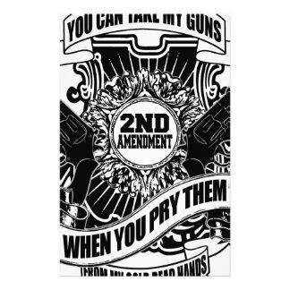 Papelaria Você pode tomar minhas armas