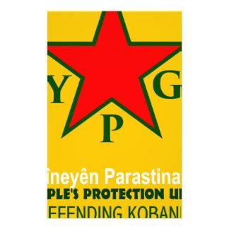 Papelaria ypg-ypj - kobani do apoio