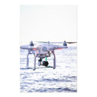 Papelaria Zangão do vôo na costa acima do mar