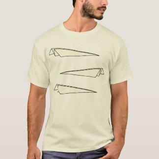 Paperplanes x 3 camiseta