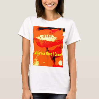Papoila de Califórnia Camiseta