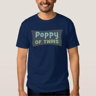 Papoila de t-shirt dos gêmeos