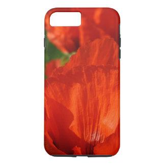 Papoila vermelha capa iPhone 7 plus