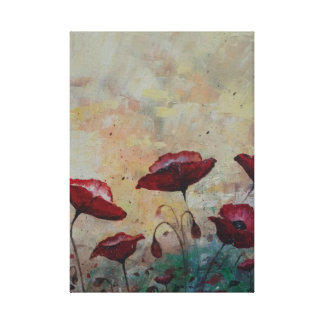 Papoilas 1 impressão das canvas