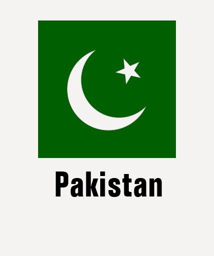 Paquistão T-shirts