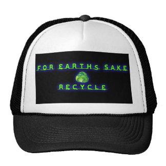 Para a causa de Earht, reciclar Boné