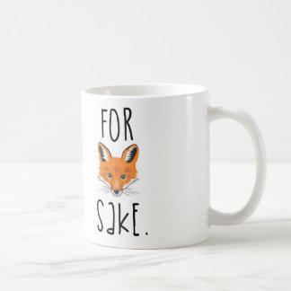 Para a causa do Fox Caneca De Café