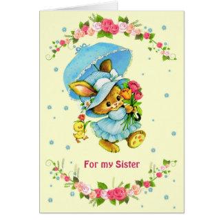 Para a irmã em cartões do dia das mães