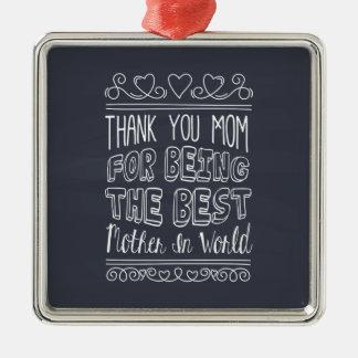 Para a melhor mamã no ornamento do mundo |