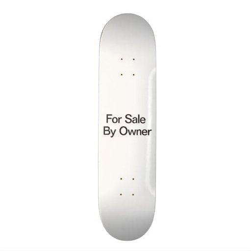 Para a venda pelo proprietário skate
