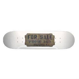 para a venda shape de skate 21,6cm
