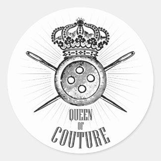 Para as pessoas que amam Sewing: Rainha do Couture Adesivo